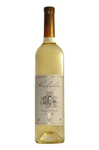 Бутилка бяло вино Мускат Отонел на Изба Калиакра